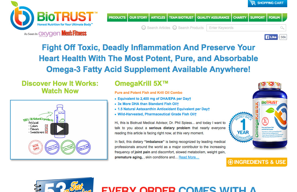 BioTrust Omega Krill 5X Reviews – Is it Safe and Does it Work?