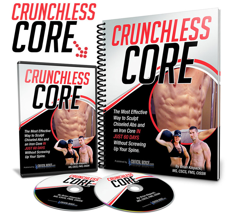 Crunchless Core Workout Program